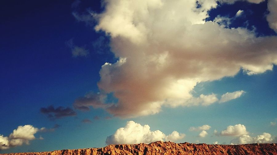 First Eyeem Photo Colour Of Life Nature Bule Shades Desert Desert Sky Sky And CloudsBulesky Skyporn Cluodporn Clouds Clouds And Sky in Jordan