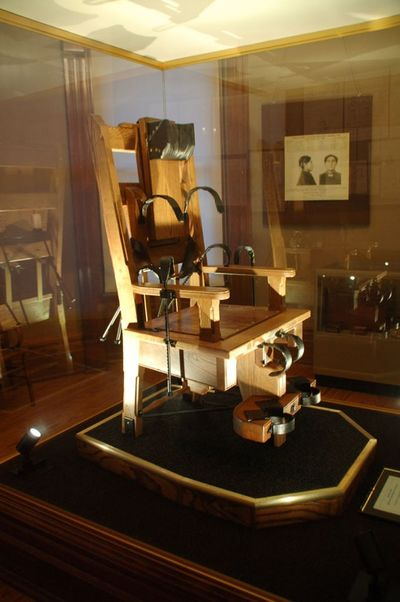 Shelby County Museum Electric Chair@ Ohio State
