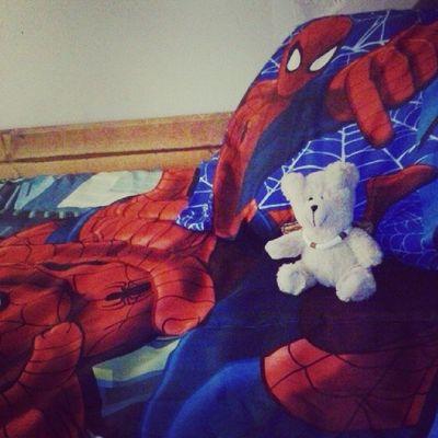 Spidy doe XD and v-day teddy Spiderman Nojoke Nightlife Teddy Rastafarian 420 dope