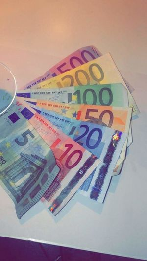 Every euros bills Euro Five Hundred Euro Notes Twenty Euro Banknote Ten Euro Five Euro Fifty Euro Banknote Two Hundred Billets Billetde500 Europe France French Turism Travel Traveling Banknote Paper Currency Currency Finance Business Wealth Savings Close-up Finance And Economy Economy Investment Bill Money One Hundred Euro Banknote Various