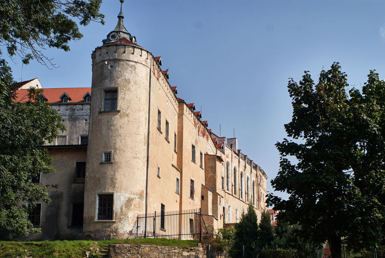 Castle Jawor Architecture Castle Jaworzno No People Old-fashioned Poland Ruins Tree