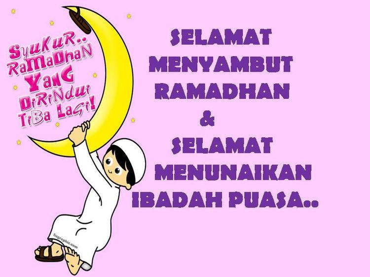Selamat Berpuasa & Menyambut Bulan Ramadhan Yg Penuh Berkat Utk Semua Umat Islam :) Happy Fasting Ramadhanalmubarak Puasa Syukur