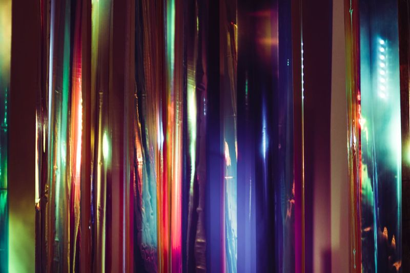 art Multi Colored Indoors  Full Frame No People Choice Variation Side By Side Textile Large Group Of Objects Pattern Illuminated Backgrounds Close-up Retail  Arrangement In A Row Curtain Decoration For Sale Abundance