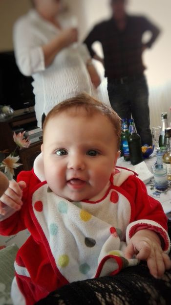 Baby Portrait Looking At Camera People Cute Happiness Indoors  Smiling Lifestyles Adult One Person Close-up Day Human Hand