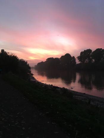 No edits Sunset Nature Beauty In Nature Scenics Water