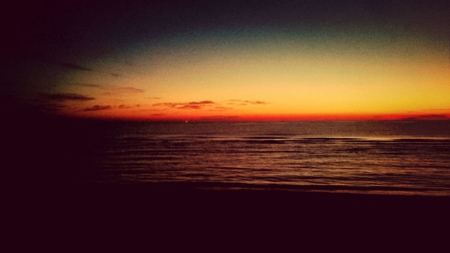 Rimini Beach Sunrise