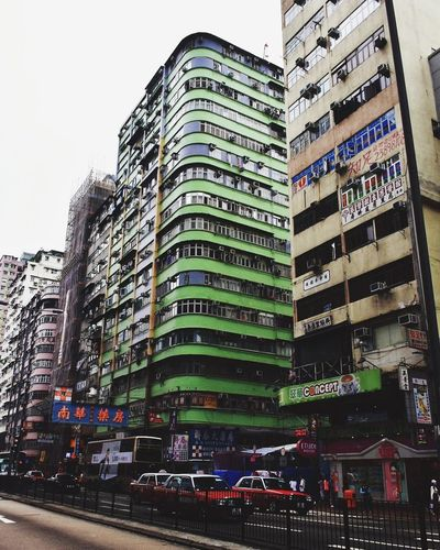 I like the green that stands out Hong Kong Building Travel Photography Hong Kong Travel To Hong Kong Architecture Streetphotography Taking Photos Travel Explore The World Travel Destinations Colours The Architect - 2016 EyeEm Awards