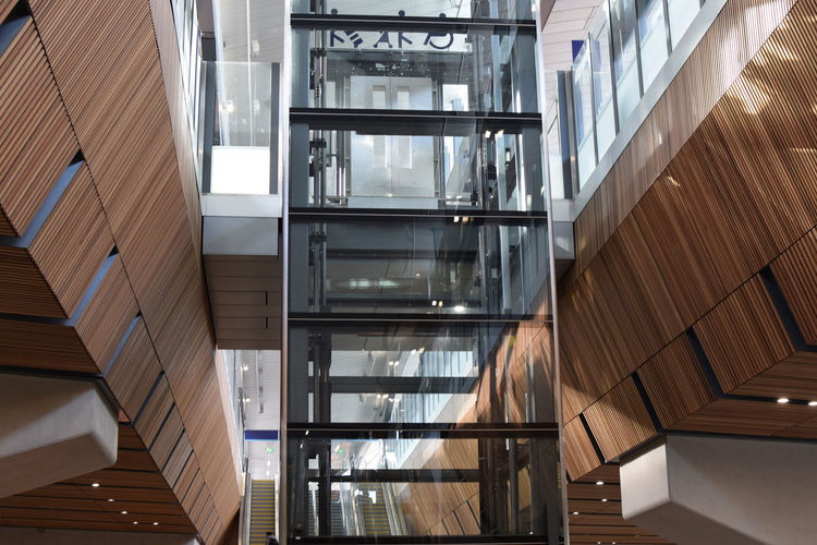 The spectacular London Bridge rail station London London Bridge London Bridge Station Rays Of Light Architecture Building Built Structure Business Ceiling City Day Flooring Glass - Material Indoors  Low Angle View Modern No People Office Pattern Staircase Train Train Station Window