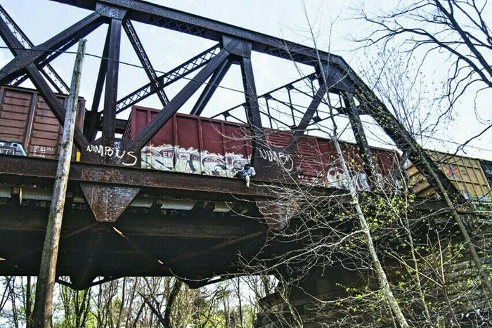 the places i hang out....... Artistic Expression This Is Me Notes From The Underground Graffiti Art Urban Exploration Street Art Stunning_shots Bridges