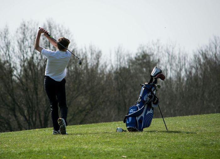 Golfing Golf ⛳ Golf Wang Playing Golf Golfer Golfclub