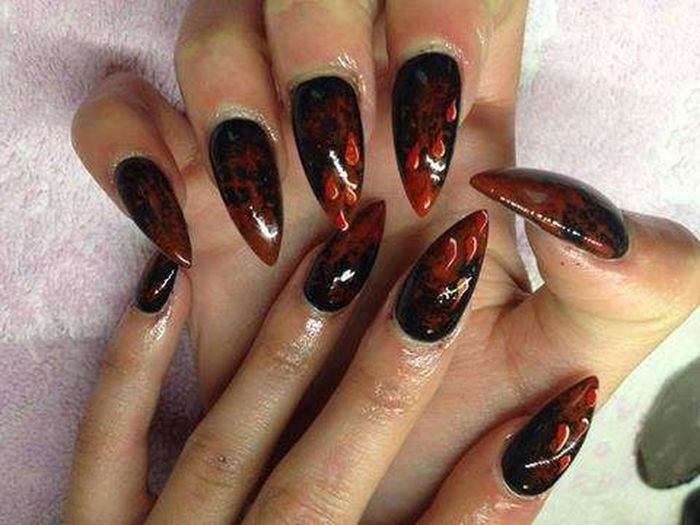 Nails My Nails  Nailsart Halloween
