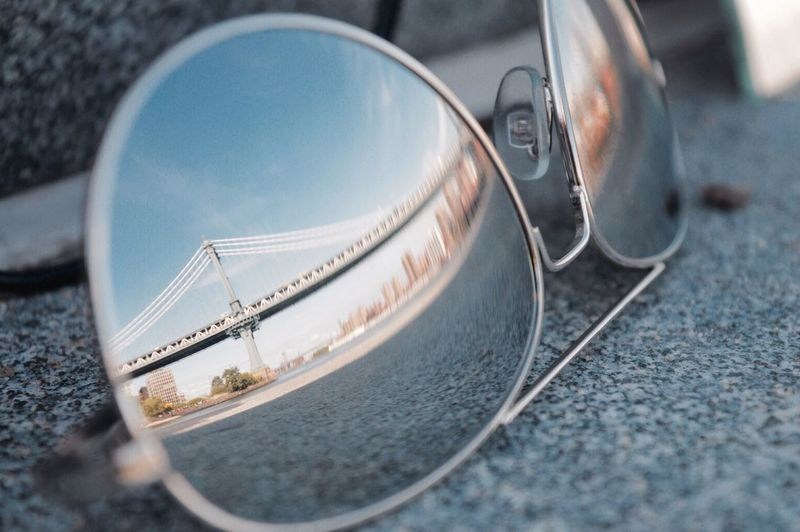Battle Of The Cities Reflection Sunglasses NYC NYC Photography Looking Out Waterfront The Minimals (less Edit Juxt Photography) EyeEm Best Shots