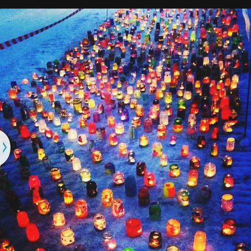 1000 candles made by pre-school kids. A sign for diversity, love and human rights ? A Swedish project Diversity Love Human Rights Colorful Candles Candles Of Faith Candles Of Love Hello World Kidsartwork Pride Childrensart