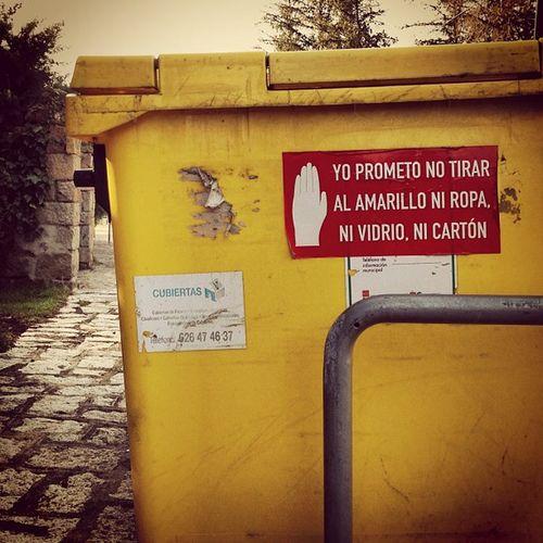 Promesa #garbage #basura #bin #street #sign #navacerrada #madrid #igscout #_wg #instapic #instagramer #insta_crew #instamillion #tagstagramers #instago #tagsforlikes #photooftheday #instagroove #igersmadrid #picoftheday #iphonesia #latergram Igscout Tagsforlikes Street Instagramer _wg Madrid Instagroove Garbage Instapic Sign Instamillion Photooftheday Tagstagramers Iphonesia Picoftheday Basura Navacerrada Latergram Igersmadrid Instago Insta_crew Bin