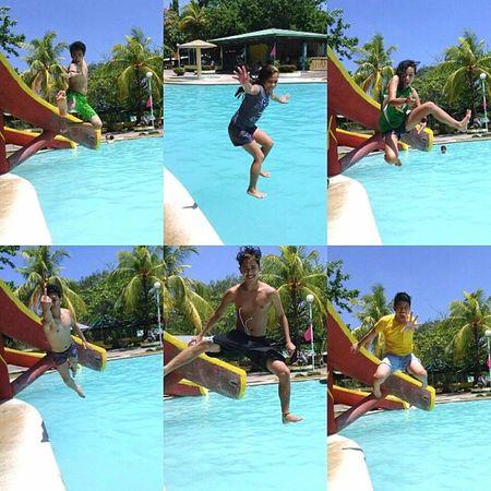 Fly high. Soar high ^^ Jumpshots Cousins  Bonding Summer