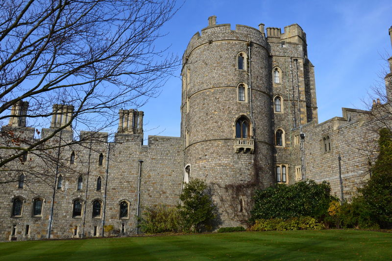 Windsor London LONDON❤ Architecture The Past History Building Exterior Built Structure Sky Tree Plant Building Nature Old Religion No People Bare Tree Place Of Worship Ancient Low Angle View Belief Day Tower Outdoors Ancient Civilization Stone Wall