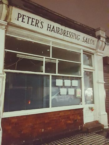 Ealing Old Shop Fronts the Peter of the shop passed away over the NY. Shop inside and out looks it has been there 40 - 50 years. Touching tributes from the area. West Ealing