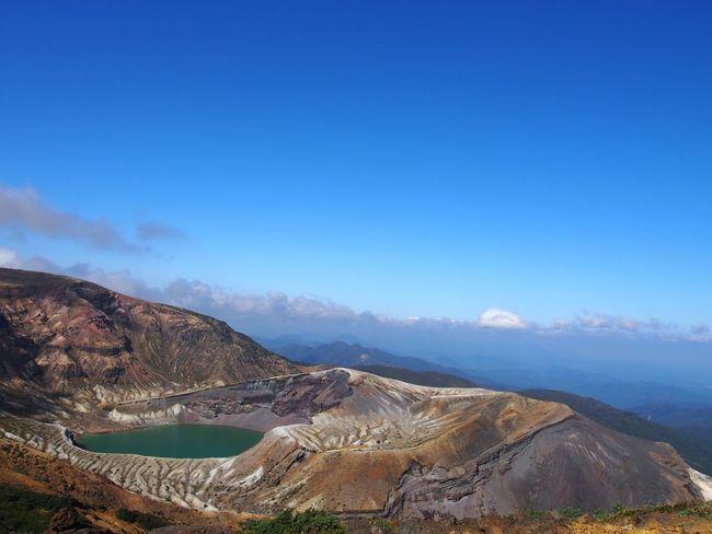 蔵王、御釜。Okama at Zao. Crater Lake EyeEm Best Shots EyeEm Nature Lover EyeEm Gallery