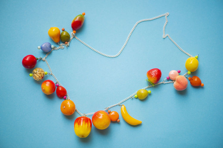 Colorful beads for young lady