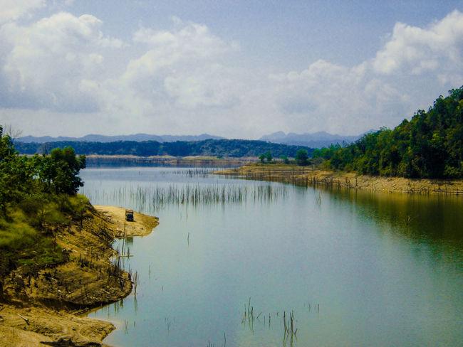 Koto Panjang Lake = a village that was changed to be a lake Best Eyeem Photo Outdoor Photography Malephotographerofthemonth EyeEm Best Shots - Nature Panoramic Photography Lake View Traveling Nature Photography Pekanbaru Kampar Riau