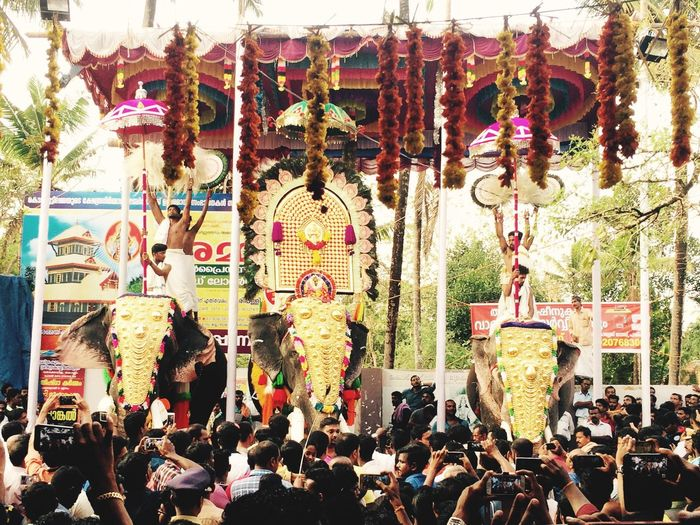 Temple Festival Elephant ♥ Excitement Beautiful