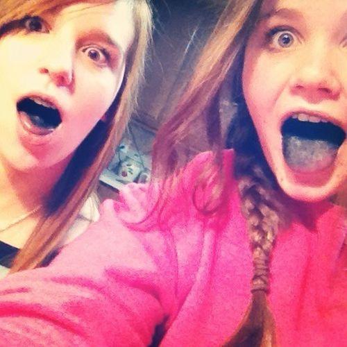 Happy Birthday home gurl! Lol we look like death eaters