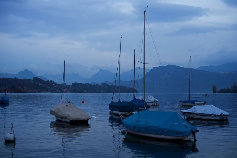 Luzern seafront