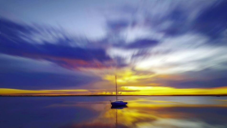 My Favorite Place Transportation Nautical Vessel Boat Water Mode Of Transport Calm Tranquil Scene Waterfront Ocean Sea Tranquility Scenics Cloud Sky Nature Majestic Non-urban Scene Beauty In Nature Seascape Outline