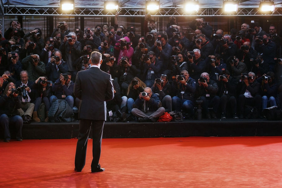 Rome, Italy - October 13, 2016: Tom Hanks on the red carpet at the 11th film festival in Rome Actor American Actor Behind Famous Actor Palcoscenico Photographers Red Carpet Rome Film Festival Tom Hanks Tom Hanks