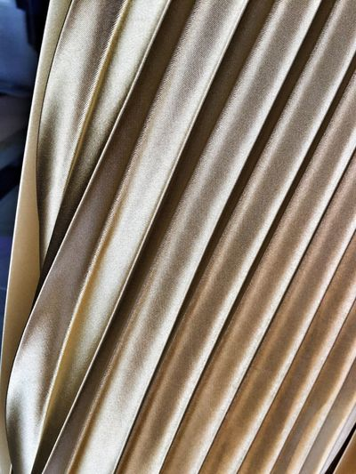 Pleated Silk Silk Pleats Textures And Surfaces Textured  Texture Textures Texturestyles Material Materials Fabric Fabrics Shiny Shiny Things Shiny Fabric Gold Golden Golden Silk Clothing Skirt Skirts Women's Clothes Classy Fashion Fashion&love&beauty Fashion Photography