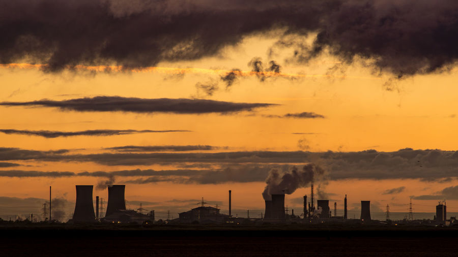 The South Gare at Redcar. North east of the UK. South Gare Redcar Uk England Europe Coast Industry Industrial North East UK North East England Teesside Tees Sunset Sunset_collection Sunset Silhouettes Sunset #sun #clouds #skylovers #sky #nature #beautifulinnature #naturalbeauty #photography #landscape