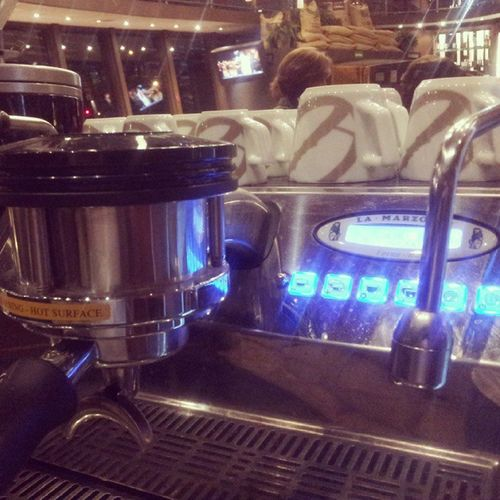 Premium coffee machine São Paulo Sao Paulo - Brazil Coffee Machine Cafeteria Coffee Cafedobrasil Food And Drink Indoors  Preparation  Illuminated No People Close-up