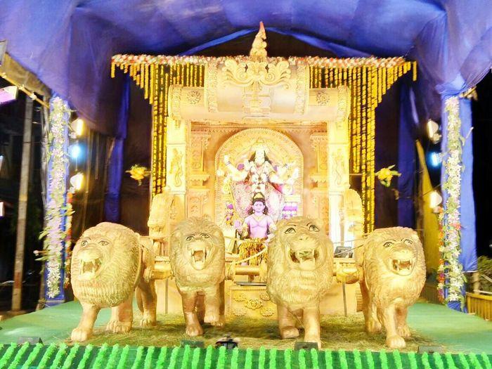 Durga Puja 2017 Festive Mood DurgaPujaDiaries Art And Craft Sculpture