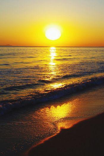 Sunrise Beach Ocean Horizon