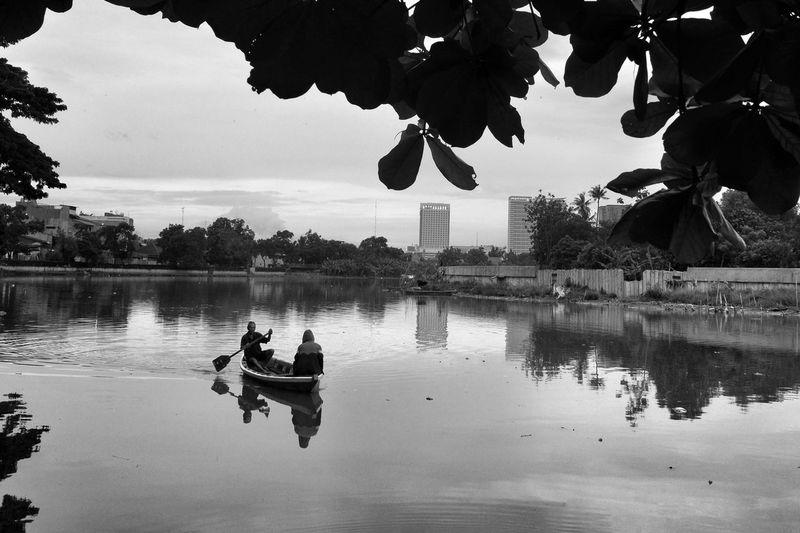 Cisadane river