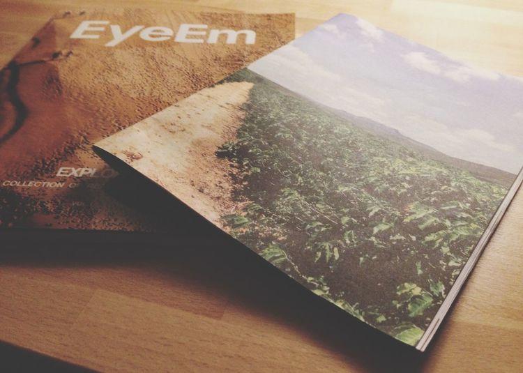 EyeEm x Caffeine magazine. Light Reading What's On My Desk