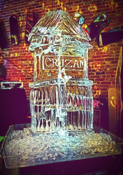 Last Drink, I Promise Celebrating Ice Ice Ice Baby ICE Photography Ice Sculpture Great Atmosphere Taking Photos Taking Pictures Enjoying Life Hanging Out Check This Out