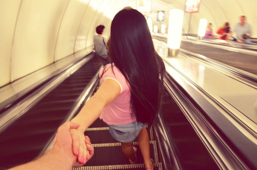 Commuting Come To Me... Hold My Hand.....