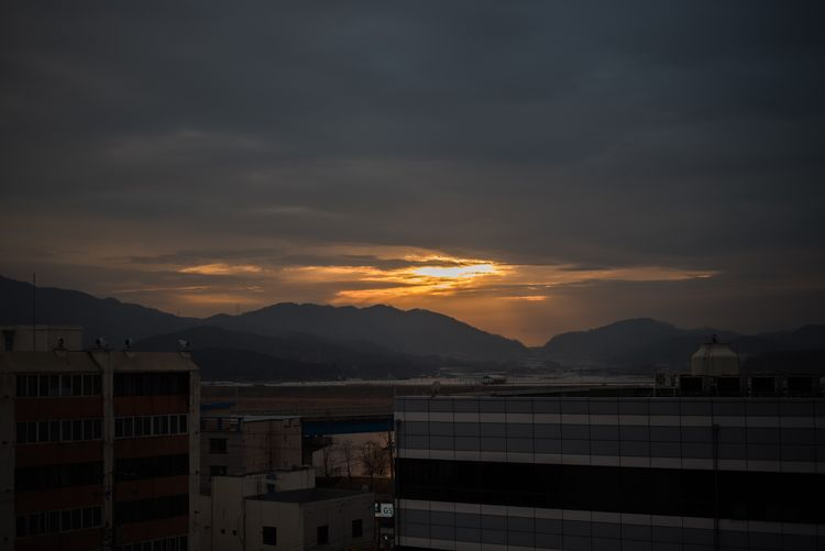 Mountain Mountain Range Sunset No People Architecture Sky Building Exterior Beauty In Nature Outdoors Nature Day Built Structure