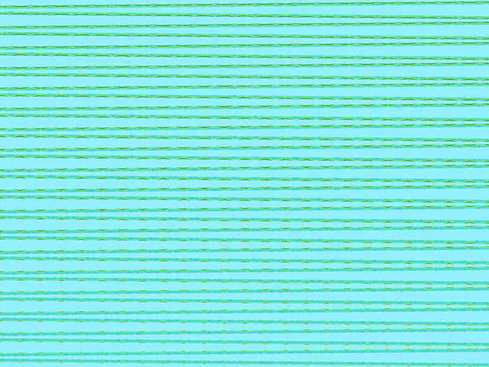 Full frame shot of green patterned wall