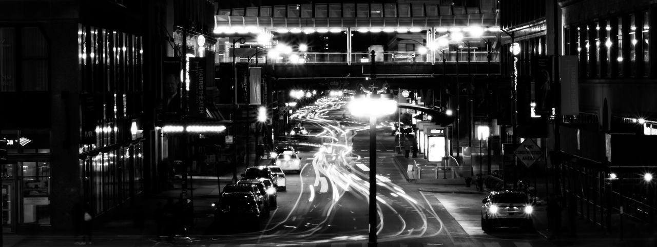 Long Exposure B&W Architecture Blurred Motion Celebration City Illuminated Indoors  Long Exposure Motion Night Nightlife No People Speed