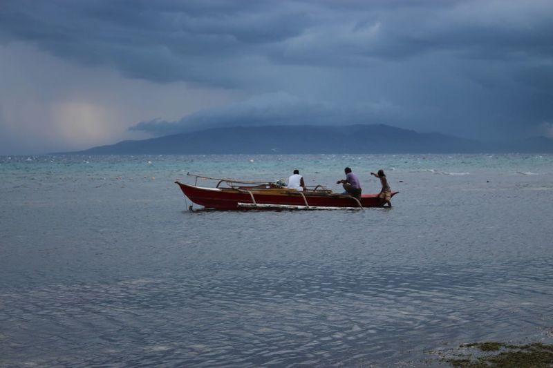 fishing early
