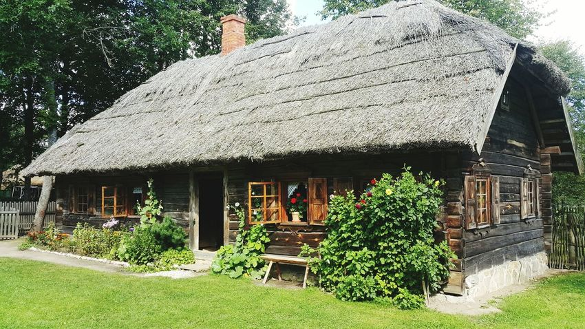 Built Structure Architecture Nature National Park Lithuania Old Houses Traditional House Countryside Scene