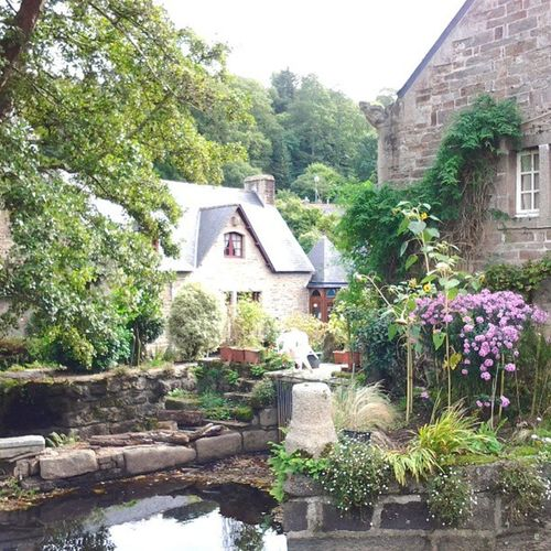Fairytale French town. France Brittany Pontaven Paulgauguin fairytale boisdamour vivelafrance enchanting
