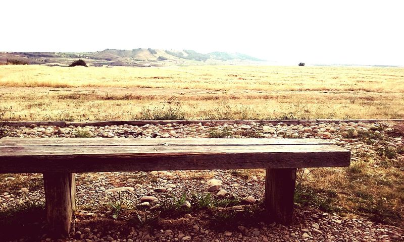 Compostelle CaminodeSantiago Banc Seat Nature_collection Relaxation Rural Scene Beauty In Nature Solitude Spain♥ Summer ☀ Tourism Destination Agriculture Way