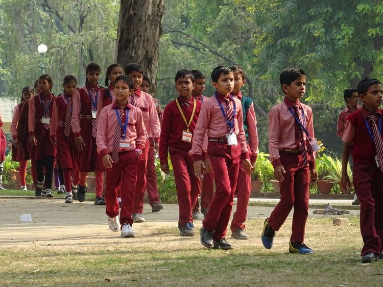 School Uniforms Around The World India Allahabad House Of Nehru Anandbhawan Schoolpicnic