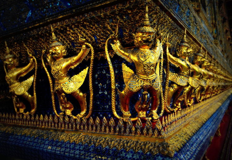 beautiful temples Architectural Detail Art Art And Craft Buddha Close-up Gold Colored Golden History Low Angle View Place Of Worship Religion Sculpture Spirituality Temple Temple - Building