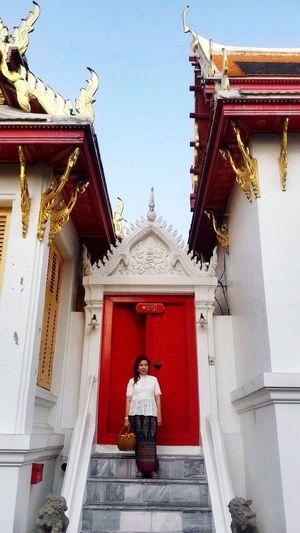 วันมาฆะบูชา Watbenchamabophit Watb Marbletemple ThaiTemple Religion Spirituality Low Angle View Sky Day