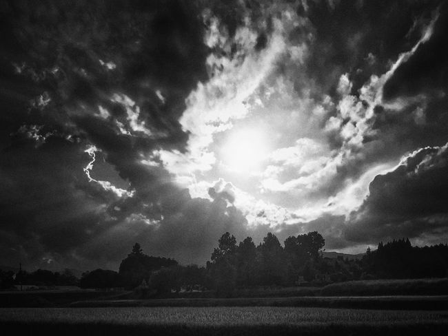 Beauty In Nature IPhoneography Iphone7 EyeEm Nature Lover Silhouette Sky And Clouds Iosphotography Dramatic Sky