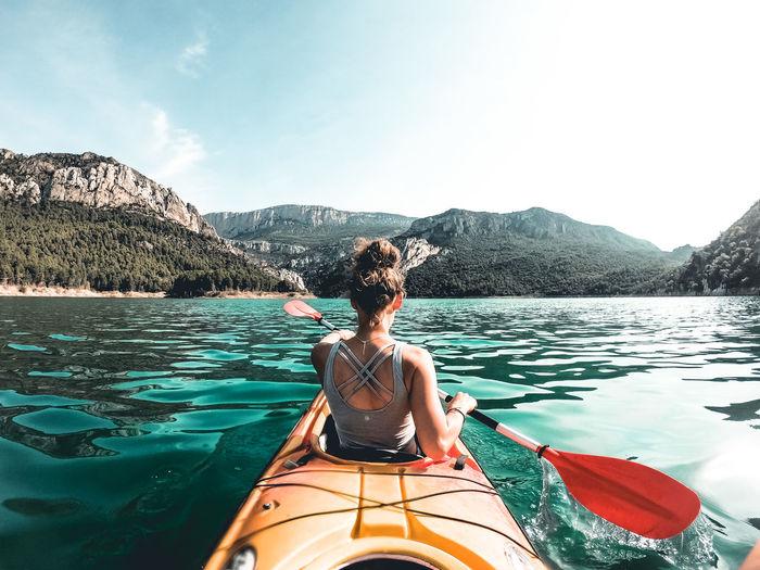 Canoeing in spain